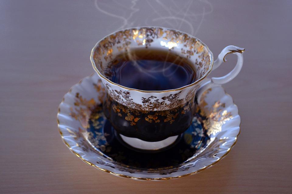 une tasse de thè