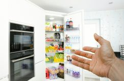 Réfrigérateur rangée